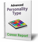 Advanced Personality Type Career Report - book cover